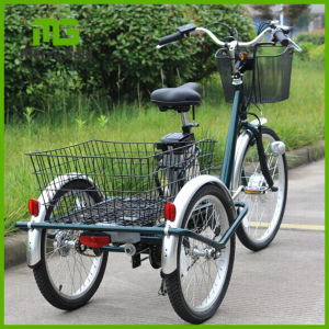 Big Wheel 3 Wheel Shopping Cargo Cart/Electric Tricycle pictures & photos