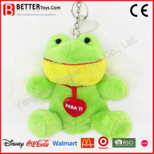 Cheap Stuffed Frog Keyring Plush Animal Keychain pictures & photos