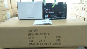 Maintenance Free 12V9ah Mf Motorcycle Battery pictures & photos