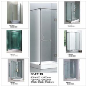 Quadrant Shower Enclosure Room with Sliding Open Door pictures & photos