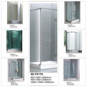 Sliding Open Door Quadrant Shower Enclosure Room pictures & photos