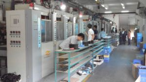 Vertical Double Color Tr/TPR/PVC Sole Injection Moulding Machine pictures & photos