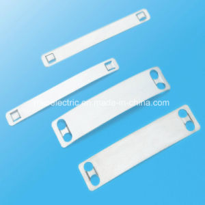Square Rectangle Cable Clips with Steel Nail pictures & photos