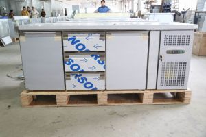 1000L 4 Doors Fan Cooling 304 Stainless Steel Commercial Refrigerator pictures & photos