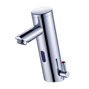 FLG Auto Touch Sensor Faucet Bathroom Basin Tap Deck Mounted pictures & photos