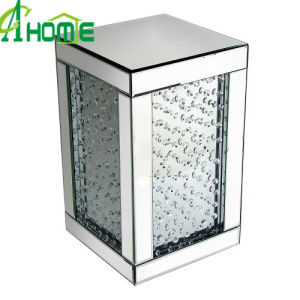 Hot Sale Mirror Table Cheap Simple Crystal Glass Table pictures & photos