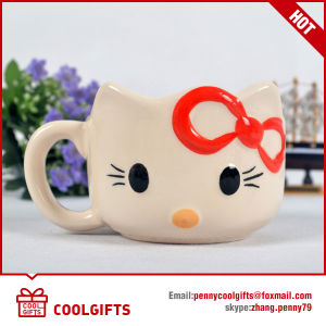Cartoon Rabbit 3D Design Small Ceramic Mug (CG225) pictures & photos