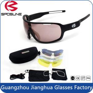 UV Block Light Weight Aathletes Interchangeable Sunglasses pictures & photos