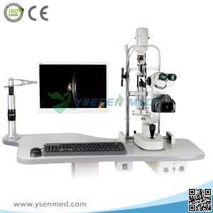 Hospital Medical Biological Microscope Ophthalmic Instrument Optical Slit Lamp pictures & photos