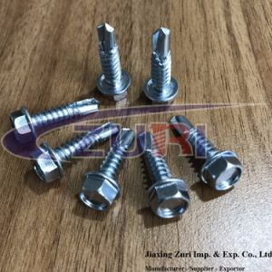 Self Drilling Screw 5.5X25 Hex Head pictures & photos
