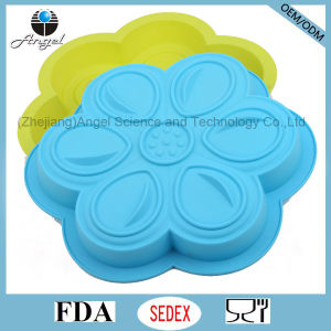DIY Flower Muffin Silicone Cake Pan Sc53 pictures & photos