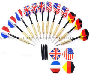 OEM Logo National Flag Metal Dart Needle for Promotional Gift pictures & photos