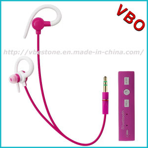 Mini Neckband Clip on in-Ear Wireless Sport Bluetooth Earphone for Mobile Phones pictures & photos
