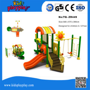 Favorite Children Outdoor Playground Slide Set, Commercial Outdoor Playground Playsets pictures & photos