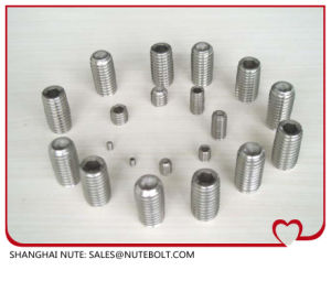 Stainless Steel   Hex Socket Set Screw pictures & photos