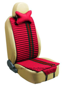 Linen and Velvet Car Seat Cover Double Sides Use-Red pictures & photos