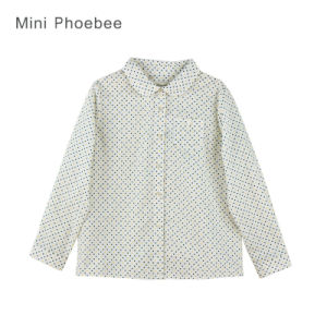 Phoebee Girls Clothes Cotton Cute Shirt for Spring/Autumn pictures & photos