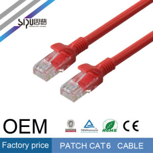 Sipu Fluke Testing Computer Cables UTP 24AWG CAT6 Patch Cable pictures & photos