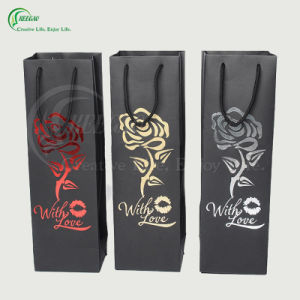 2017 New Design Paper Bag for Wine (KG-PB081) pictures & photos