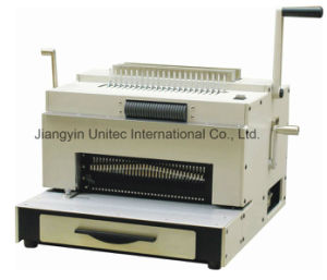 Electrical Heavy Duty and Multi-Function Book Binding Machine Super 4&1 Revolver Machine