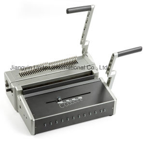 China New Innovative Product Wire Binding Machine HS-310 pictures & photos