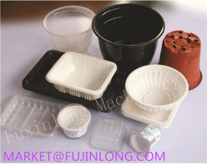 Plastic Plate Thermoforming Machine Price pictures & photos