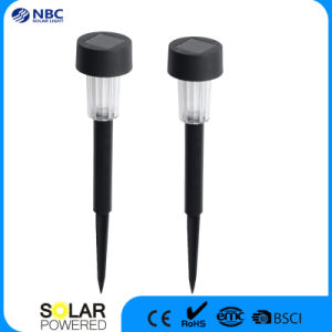 Small Black Plastic Solar Garden Light Solar Stake for Promotion Gift pictures & photos