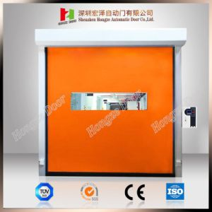 Anti-Wind-Speed Industrial Warehouse Automatic Roll up Security Rapid Roller Shutter Door pictures & photos