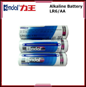 Double AA Alkaine Battery 1.5V Lr6 for Remote Control pictures & photos