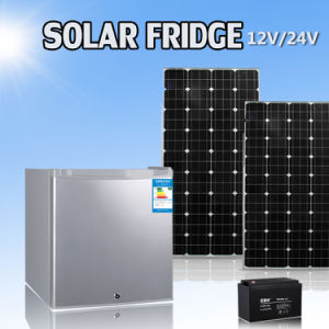 12 Volt Mini Solar Powered Single Door Freezer Refrigerator pictures & photos