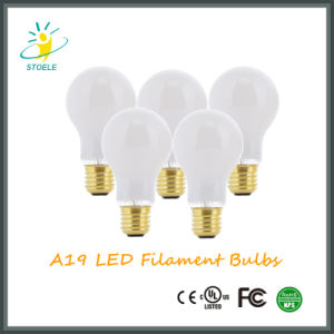 New LED Bulb UL Listed /Ce Certificate/ RoHS/FCC Compliant A19/A60 Warm White Lamp