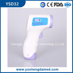 Ysd32 Gun Shape Baby Non-Contact Infrared Forehead Thermometer pictures & photos
