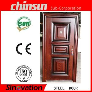 Professional Steel Glass Security Door with Ce Certificate (SV-S062) pictures & photos