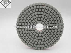 Wet Diamond White Polishing Pads for Grinding Stone pictures & photos