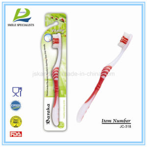Adult Tooth Brush with Extra-Nylon Bristle Pet/PBT pictures & photos