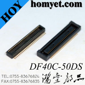 0.4mm Pitch Double Row 2*2.5mm 50p Btb Connector FPC Connector for Electrical Products pictures & photos
