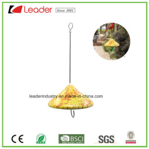 Hand Painted Ceramic Birdfeeder Figurines for Tree Decoration and Garden Ornaments pictures & photos