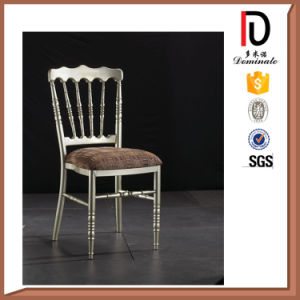 Wholesale Stackable Durable Aluminium Napoleon Chair pictures & photos