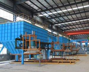 V Process Molding System and Sand Reclamation Line pictures & photos