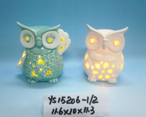 Ceramic Owl with Tealight Candle Holder pictures & photos