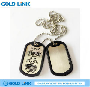 Custom Metal Dog Tag Army Dog ID Name Tag Necklace Gift pictures & photos