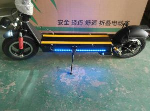 Smartek Hot Sale E-Bike Folding Smart Scooter with LED Light Standing Smart Electric Scooter S-005-3 pictures & photos