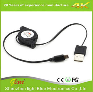 High Speed 2.5FT Micro USB Retractable Cable pictures & photos