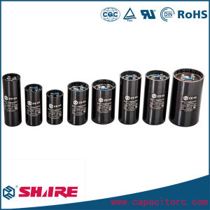 CD60 50/60Hz 100UF AC Electrolytic Capacitor for Sale pictures & photos