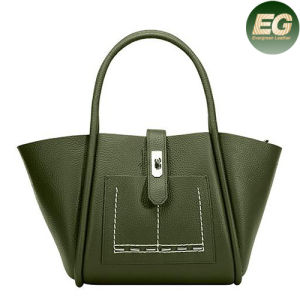 New Designer Lady Bags Fashion Tote Bag Genuine Leather Handbag Emg4865 pictures & photos