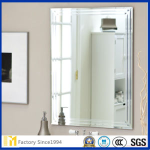 2mm 3mm 4mm 5mm 6mm Bathroor Mirror with Bevel Edge pictures & photos