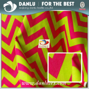 100% Cotton Poplin Fabric with Wavy Lines Printed for Bag pictures & photos