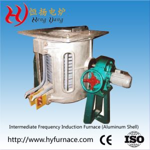 Coreless Induction Melting Furnace for Copper (GW-3T) pictures & photos