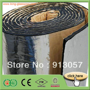 Soundproof Insulation Interior Wall Materials Rubber Foam Board/Blanket pictures & photos