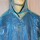 Disposable Waterproof PE Rain Poncho, PE Raincoat with Hood pictures & photos